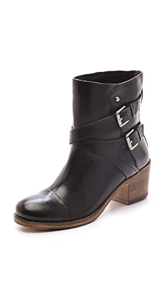 Belle by Sigerson Morrison Ashlin Booties with Chunky Heel