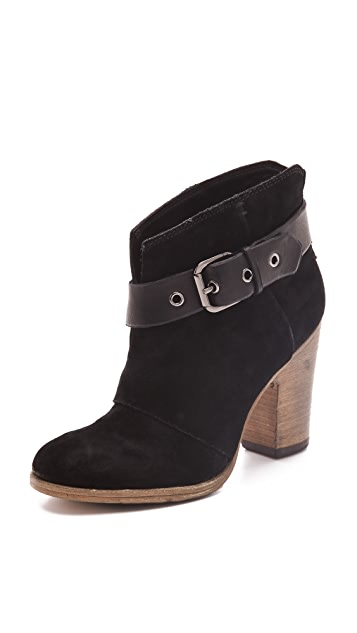 Belle by Sigerson Morrison Nicol Nubuck Booties