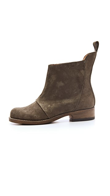 Belle by Sigerson Morrison Isha Nubuck Booties