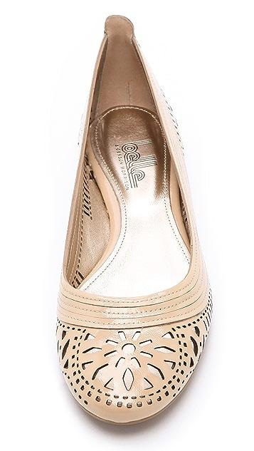 Belle by Sigerson Morrison Laser Cut Ballet Flats