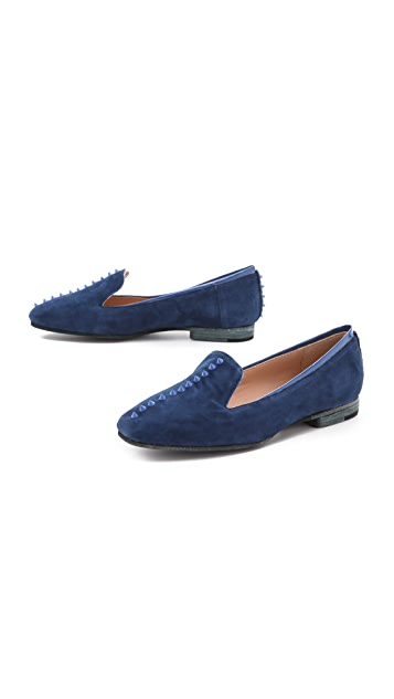 Belle by Sigerson Morrison Ramones Studded Flats