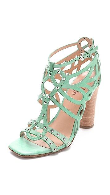 Belle by Sigerson Morrison Ola Laser Cut Sandals