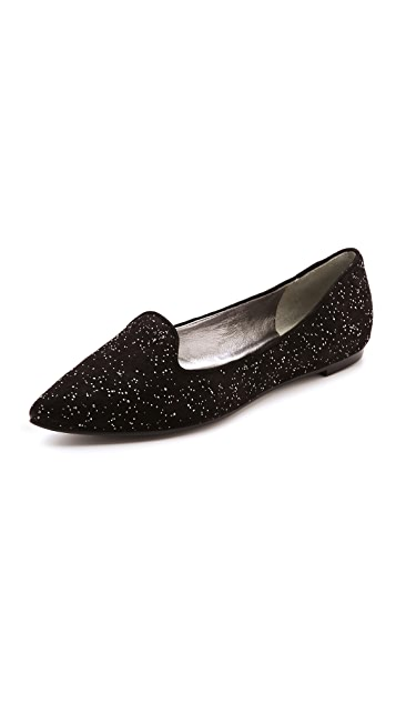 Belle by Sigerson Morrison Sadie Beaded Flat Loafers