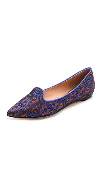 Belle by Sigerson Morrison Sadie Brocade Loafers