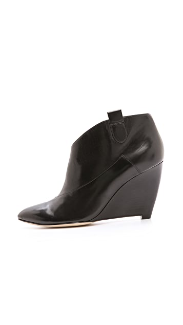 Belle by Sigerson Morrison Finley Wedge Booties