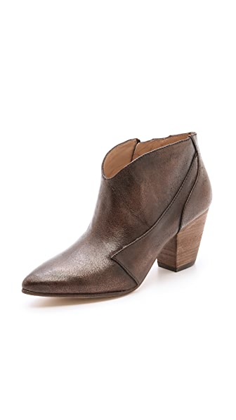 Belle by Sigerson Morrison Yoko Pearlized Short Booties