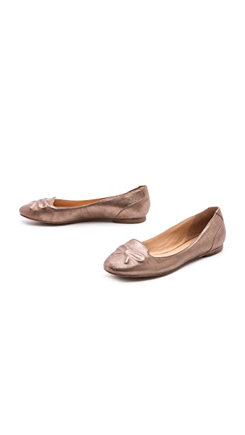 Belle by Sigerson Morrison Ariana Bow Flats