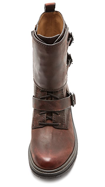 Belle by Sigerson Morrison Victoria Combat Booties