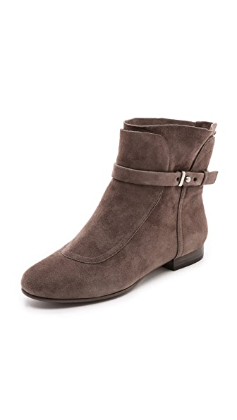 Belle by Sigerson Morrison Miracle Flat Suede Booties