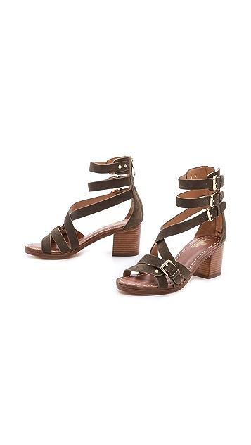 Belle by Sigerson Morrison Abra Block Heel Sandals
