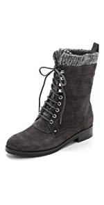 Gretchen Lace Up Boots                Belle by Sigerson Morrison