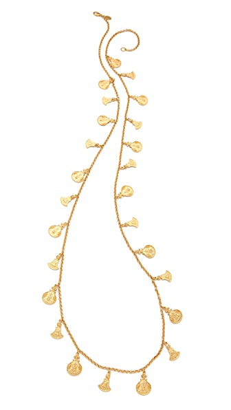 Ben-Amun Single Strand Charm Necklace