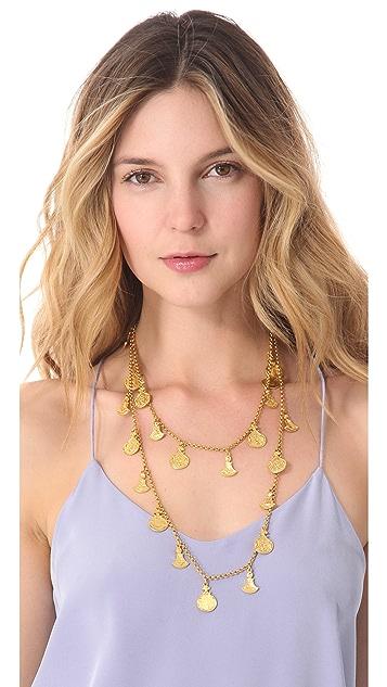 Ben-Amun Single Strand Charm Necklace