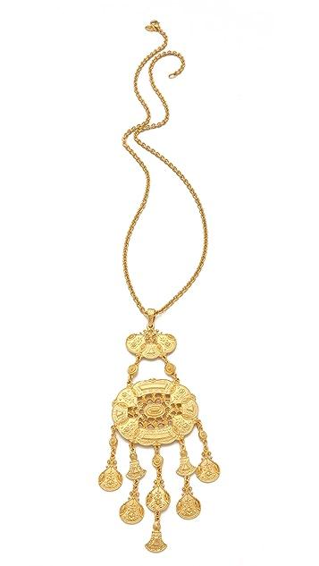 Ben-Amun Boho Long Pendant Necklace