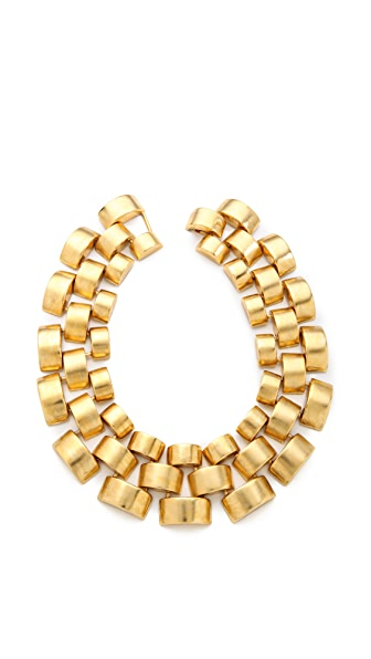 Ben-Amun Watch Link Collar Necklace