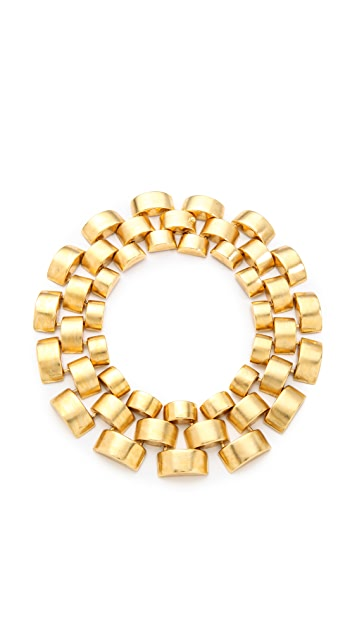 Ben-Amun Watch Link Collar Necklace