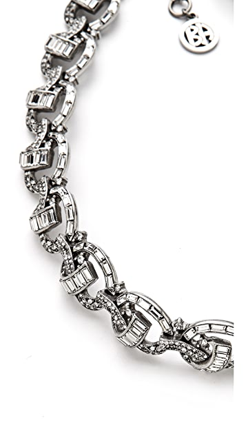 Ben-Amun Crystal Knot Necklace