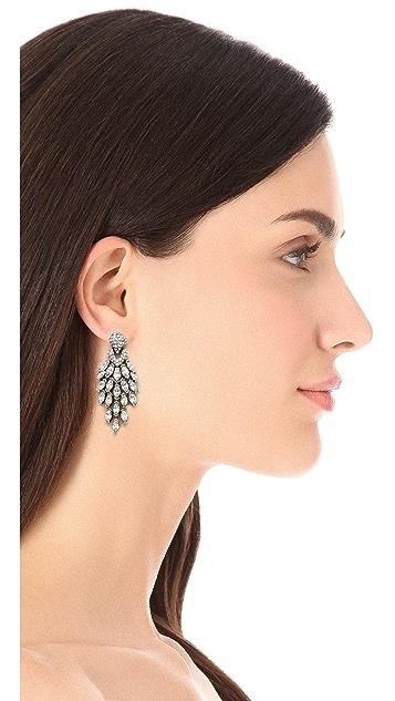 Ben-Amun Crystal Statement Earrings