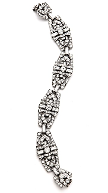 Ben-Amun Crystal Statement Bracelet