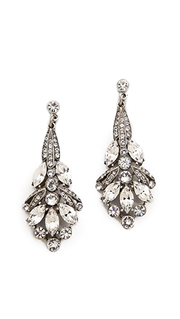 Ben-Amun Crystal Drop Earrings