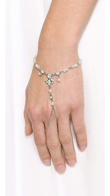 Ben-Amun Crystal & Imitation Pearl Hand Piece