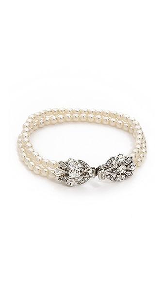 Ben-Amun Dual Strand Imitation Pearl Bracelet