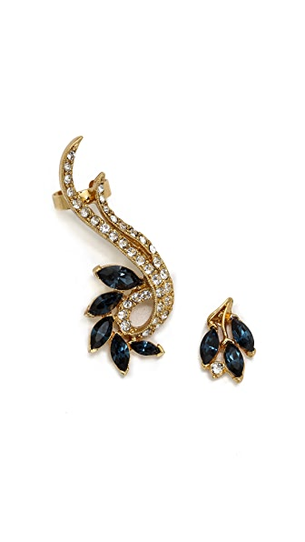 Ben-Amun Cascade Crystal Earrings