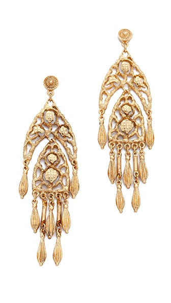 Ben-Amun Dreamcatcher Chandelier Earrings