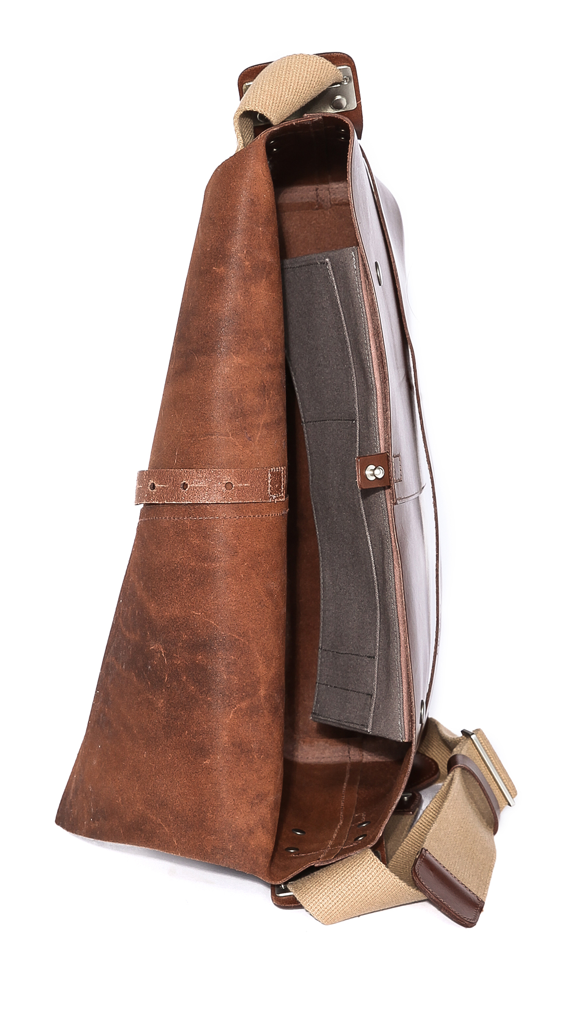 48854b4352c Brooks England Barbican Leather Messenger Bag | EAST DANE