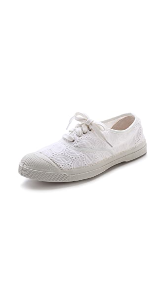 Bensimon Limited Edition Broderie Anglaise Sneakers