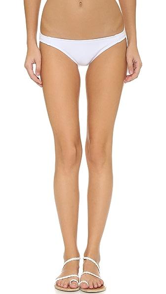 Beth Richards The Haute Pursuit Bikini Bottoms - White