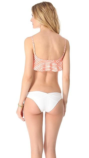 Bettinis Coast Stripes Bikini Top