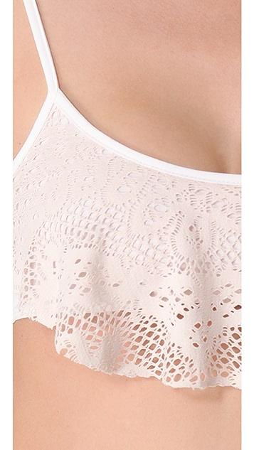 Bettinis Legacy Lace Trapeze Bikini Top