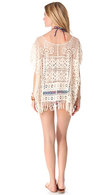 Bettinis Poncho Cover Up