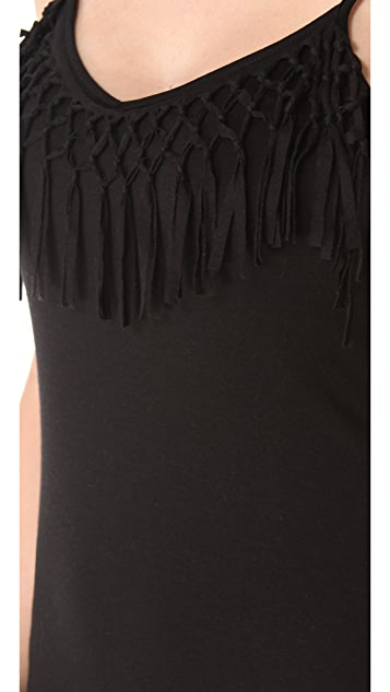 Bettinis Fringe Cover Up Dress