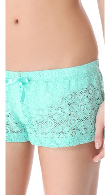 Bettinis Crochet Shorts