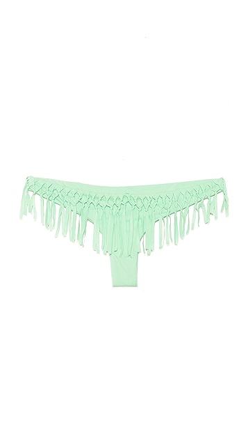 Bettinis Too Haute to Handle Fringe Bikini Bottoms
