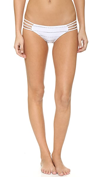 Bettinis Braided Side Bikini Bottoms