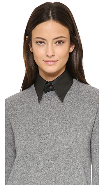 BEX nyc Leather Collar Necklace