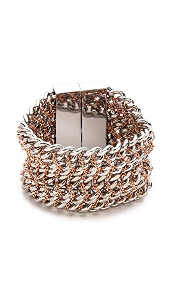 Bex Rox Alabama Chain on Chain Bracelet