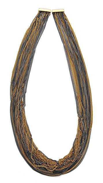 Bex Rox Multi Strand Long Chain Necklace