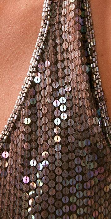 Beyond Vintage Sequin Halter Dress