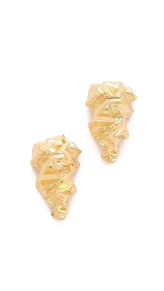 Brooklyn Heavy Metal Stone Age Stud Earrings