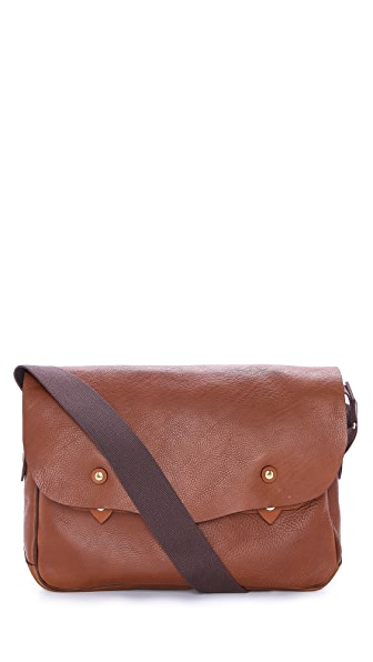 Bill Amberg Hunter Messenger Bag
