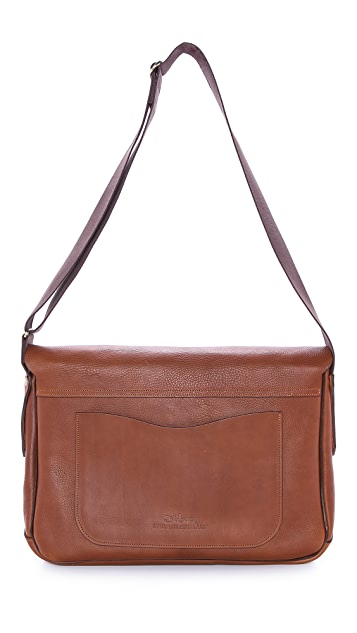Bill Amberg Hunter Messenger Bag