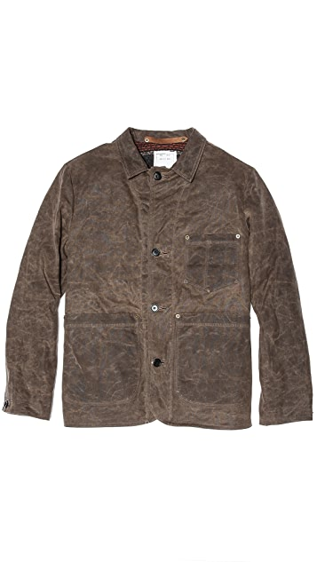 Billy Reid Quail Waxed Work Jacket