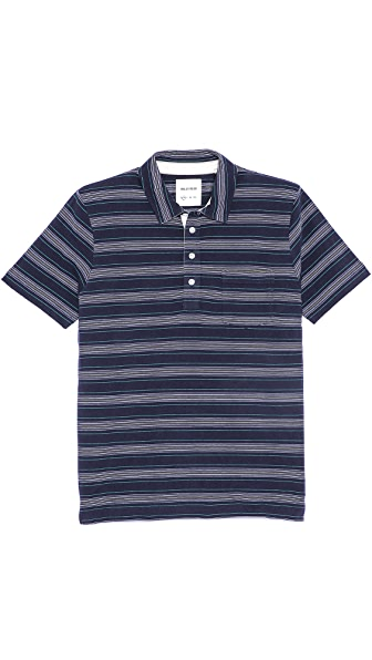 Billy Reid Pensacola Polo Shirt