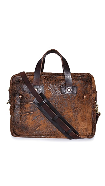 Billy Reid Distressed Briefcase