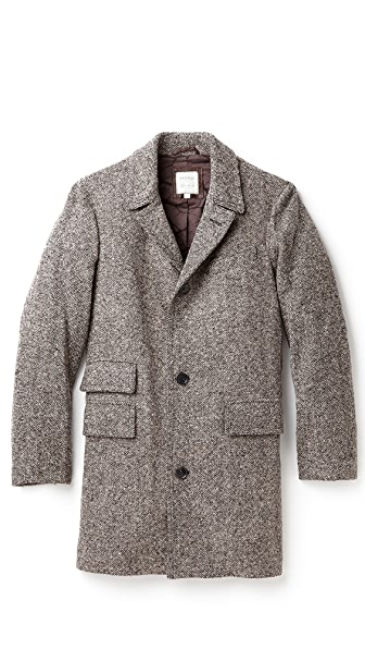Billy Reid Astor Tweed Coat