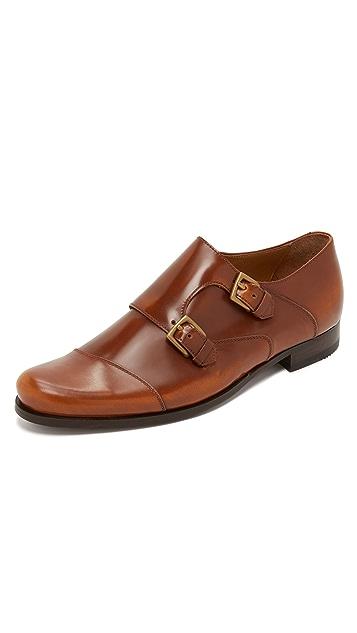 Billy Reid Double Monk Strap Shoes